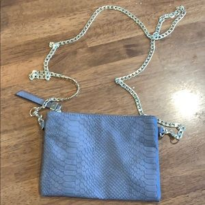Merona Gold Chain Purse Crossbody Satchel Bag